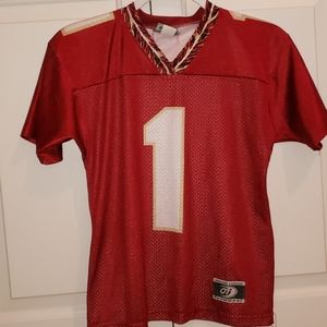 Tops - Youth Medium Florida State mesh jersey